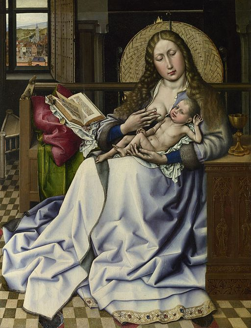 Robert_Campin_-_The_Virgin_and_Child_before_a_Firescreen_(National_Gallery_London) (1)